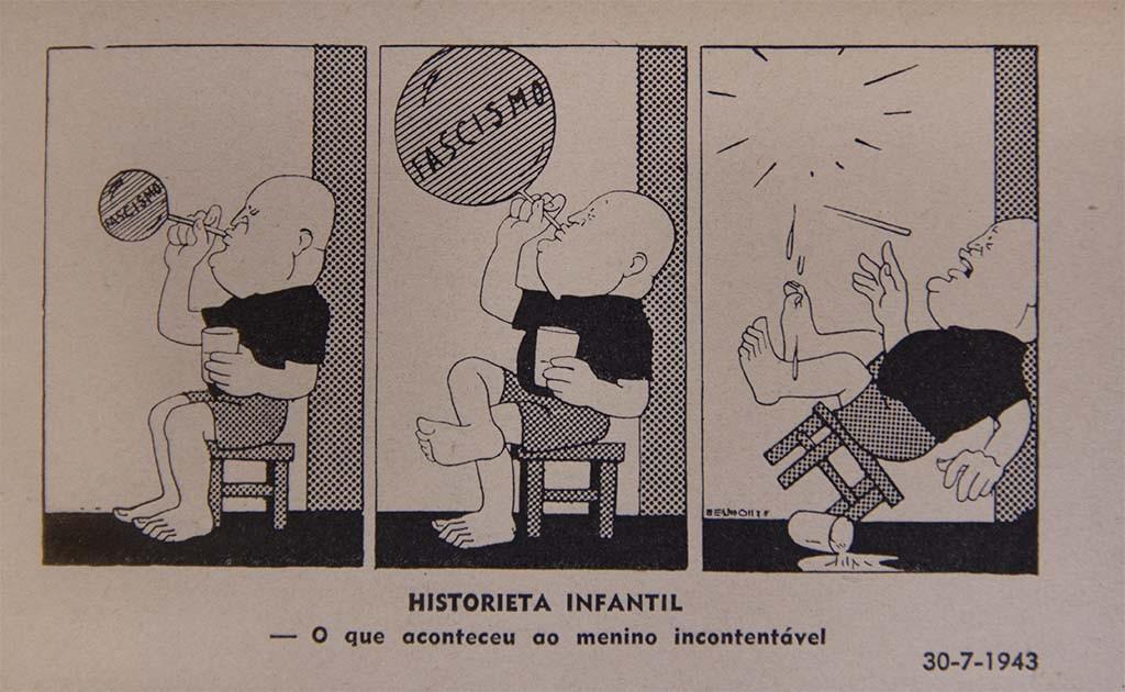 Mussolini.