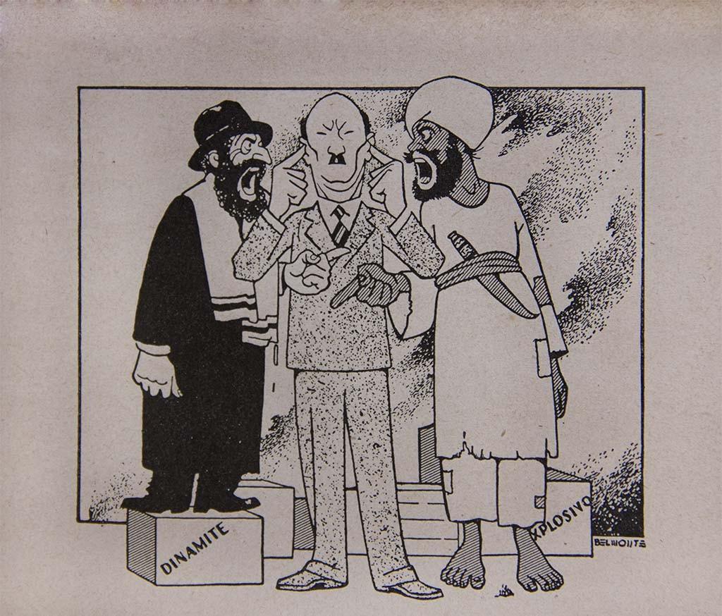 Clement Attlee, primeiro-ministro do Reino Unido entre 1945 e 1951, quando o governo britânico esteve profundamente envolvido no conflito árabe-israelense e, posteriormente, na criação do Estado de Israel.