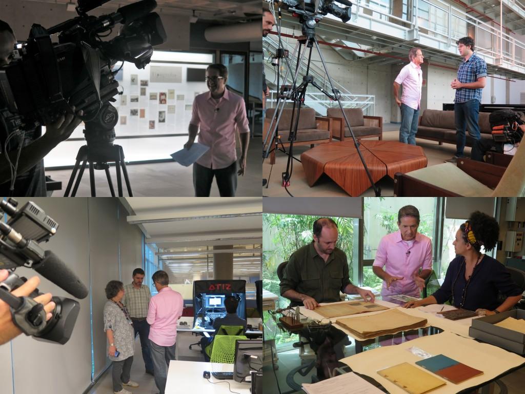 Gravação Programa Antena Paulista