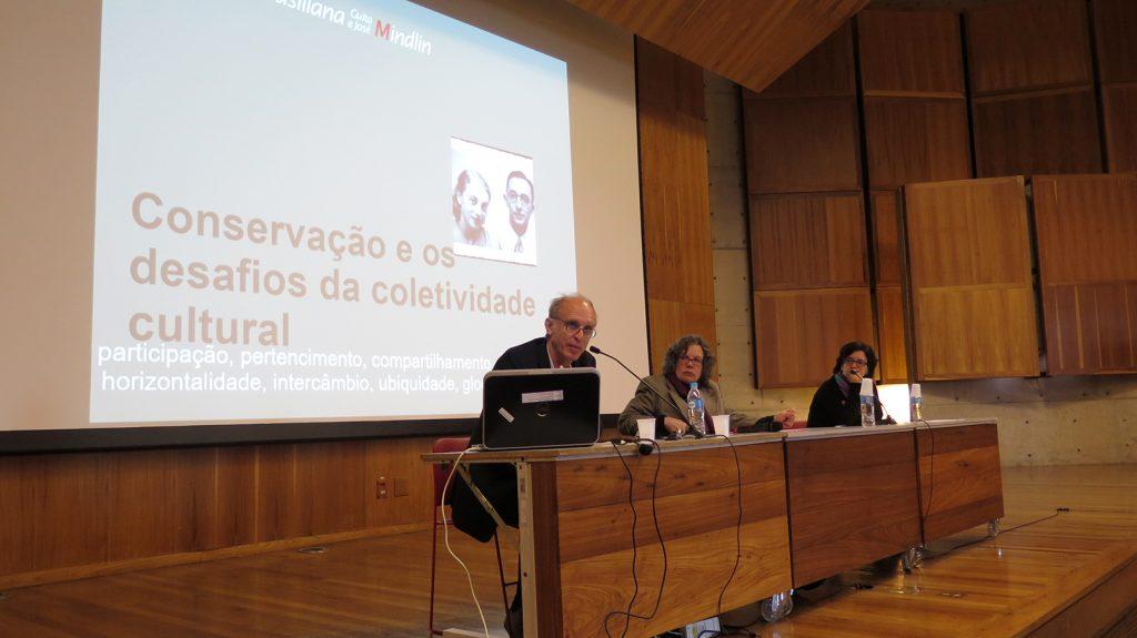 """Martin Grossmann: """"Conservação e os desafios da coletividade cultural""""."""