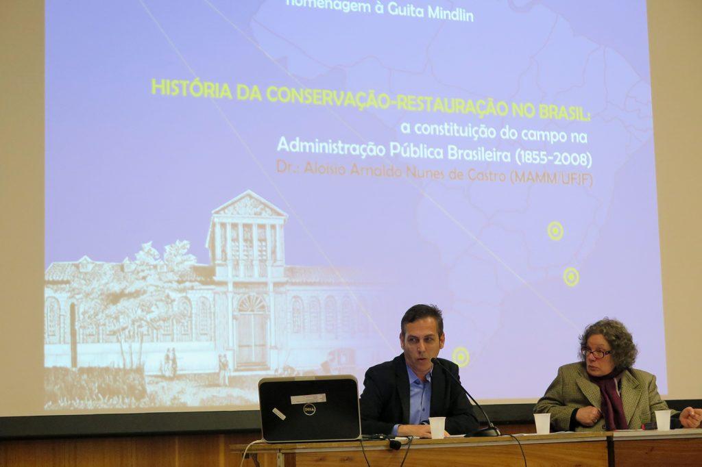 """Aloisio Castro: """"Conservação-Restauração de Bens Culturais Móveis no Brasil: reflexões sobre a constituição do campo na Administração Pública Brasileira (1855-2008)"""""""